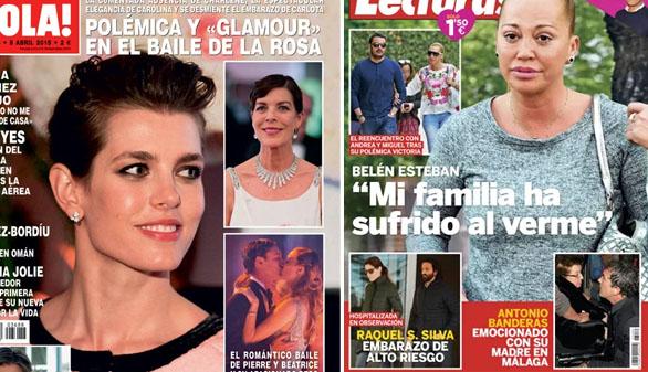La familia Grimaldi, glamour y polémica en el Baile de la Rosa