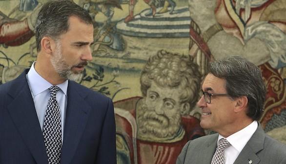 El Rey recibe a Mas, noveno presidente autonómico en pasar por Zarzuela