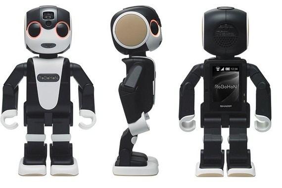 Un teléfono móvil que anda y baila: comercializan en Japón el primer terminal robot