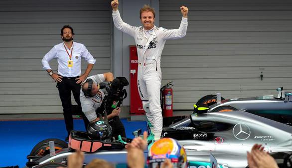 GP de Japón: victoria de Rosberg, que toma distancia de Hamilton