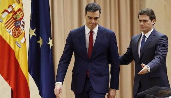 PSOE y C's, pese al fracaso, empeñados en sumar a otros partidos a su 'pacto de investidura'