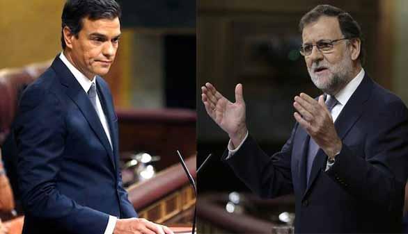 Sánchez reitera su 'no' y Rajoy le acusa de provocar las terceras elecciones