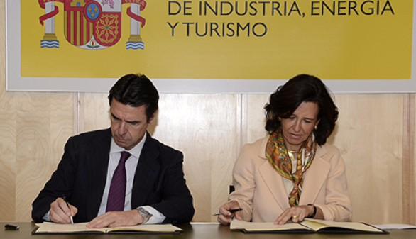 Industria y el Banco Santander apuestan por la transformación digital de España