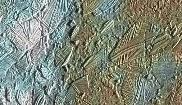 El 'terreno caótico' de Europa, la luna acuosa de Júpiter