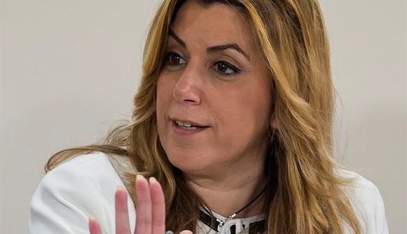 Susana Díaz vuelve a oponerse a que Sánchez se alíe con Podemos