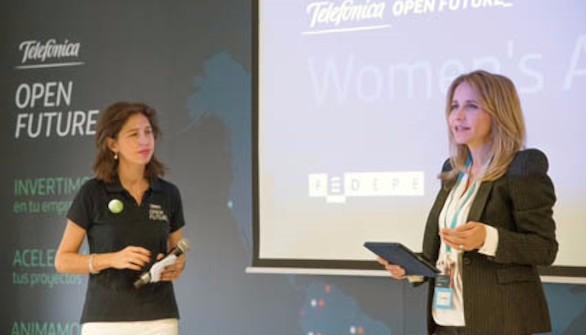 Telefónica Open Future_ y Fedepe reúnen a 150 emprendedoras