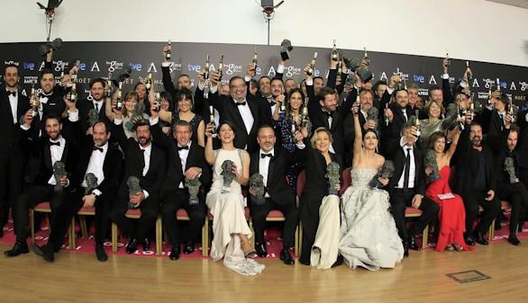 La isla mínima, indiscutible triunfadora de la XXIX edición de los Goya con diez galardones