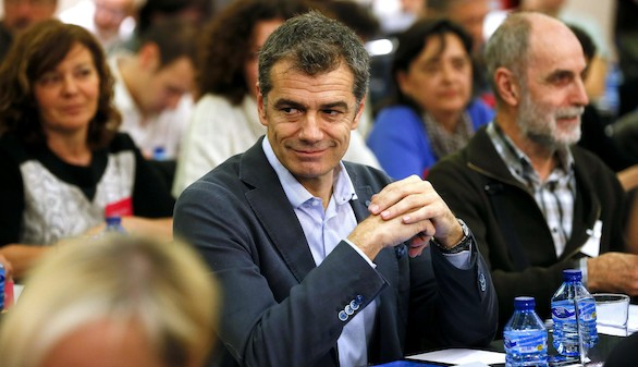 Toni Cantó se presenta a las primarias de Ciudadanos