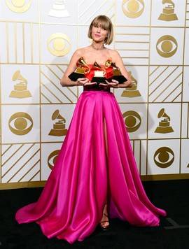 Los Grammy encumbran a Kendrick Lamar y consolidan a Taylor Swift