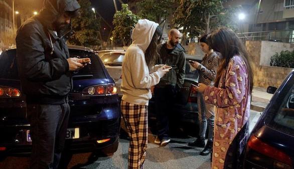 Tensión y cansancio en Melilla tras una nueva madrugada de temblores
