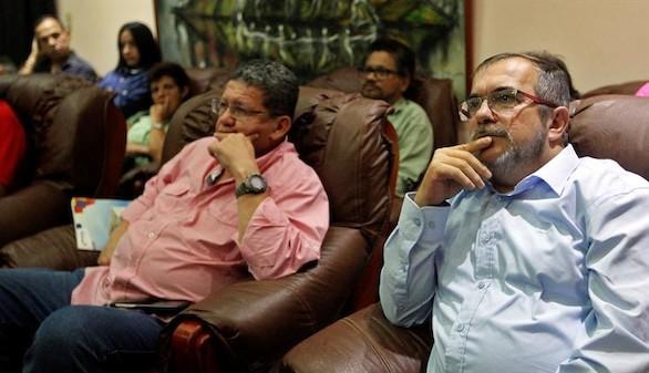 Las FARC, desoladas en La Habana pero con 'voluntad de paz'