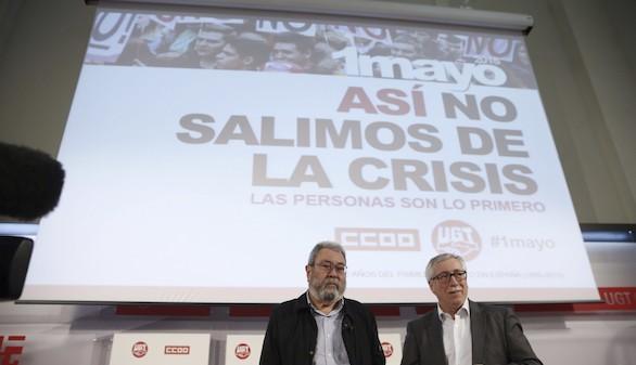 El Primero de Mayo, contra las políticas de austeridad en su 125 aniversario