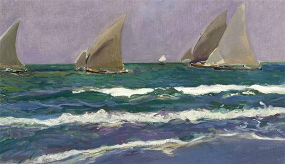 'Velas de Mar', de Sorolla, subastado en Nueva York por 463.000 euros