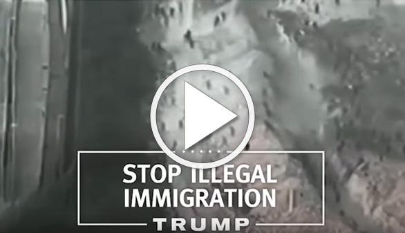 Trump convierte la valla de Melilla en la frontera mexicana