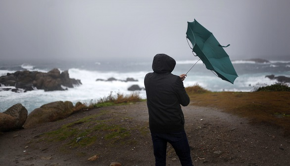 Vientos fuertes para el martes en Galicia y Asturias