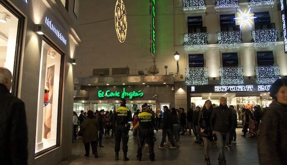 Más vigilancia policial antes las aglomeraciones de gente estas fechas