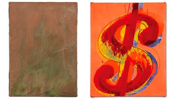 A subasta dos obras que regaló Andy Warhol a Miguel Bosé