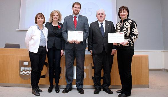 Dos investigaciones sobre crisis económica y cáncer de piel, XI Premio UD-Grupo Santander