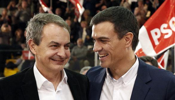 Zapatero reivindica la patente del socialismo ante Pablo Iglesias