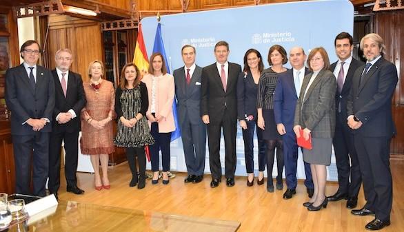 El Colegio de Abogados de Madrid traslada a Catalá sus propuestas para mejorar la Justicia