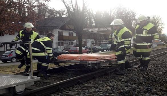 Al menos 10 muertos y cien heridos en un accidente de tren en Alemania