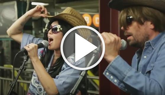 Vídeos virales. La actuación secreta de Miley Cyrus