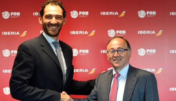 Iberia 'pone alas' a las Selecciones Españolas de baloncesto