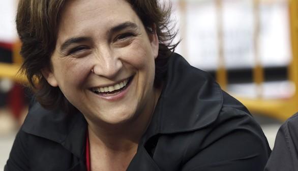 Ada Colau se impondría a Trias y daría la sorpresa en Barcelona