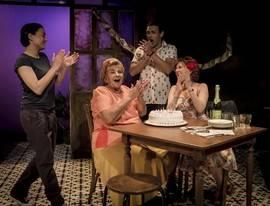 'Adentro', en el Teatro María Guerrero. Foto: marcosGpunto