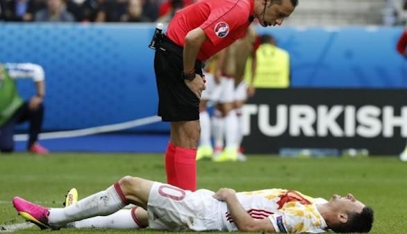La lesión de Aduriz ante Italia es