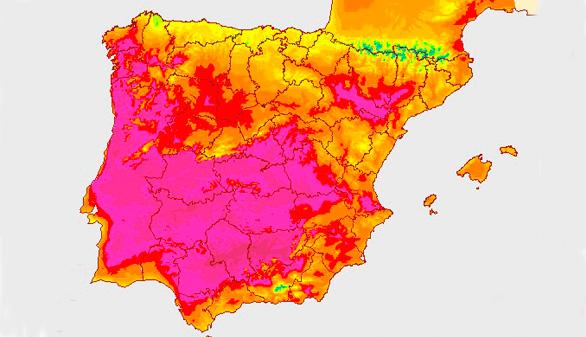 El verano arranca con temperaturas altas en Galicia y Andalucía