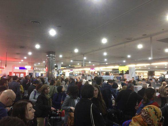 Un fallo informático causa retrasos en aeropuertos de todo el mundo