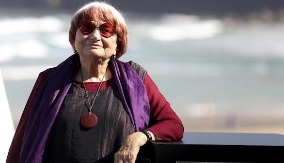 Varda, superviviente de la Nouvelle Vague, recibe homenaje en San Sebastián