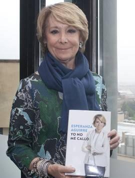 Aguirre: 'No creo que a Rajoy le tenga que disgustar mi libro, son hechos'