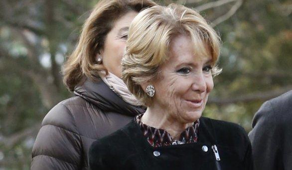 Aguirre demandará a Pedro Sánchez por acusarla de corrupta