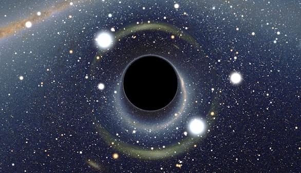 Encuentran evidencias de partículas que pueden escapar de un agujero negro