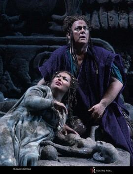 Éxito del nuevo estreno de Aida en el Teatro Real