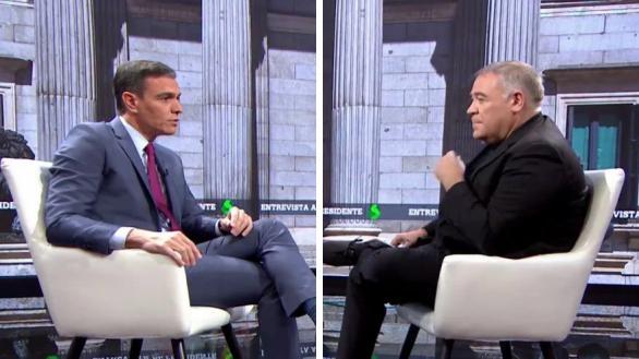 La entrevista a Pedro Sánchez en Al rojo vivo, récord en La Sexta