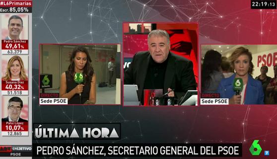 Objetivo PSOE logra imponerse ante MasterChef y Supervivientes