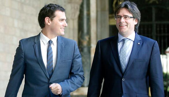 Rivera busca 'puntos de encuentro' con los nacionalistas
