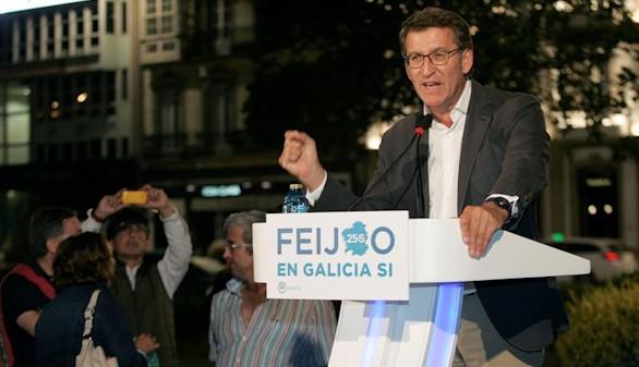 La campaña electoral se traslada al País Vasco y Galicia