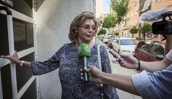 El juez establece una fianza de 150.000 euros a María José Alcón
