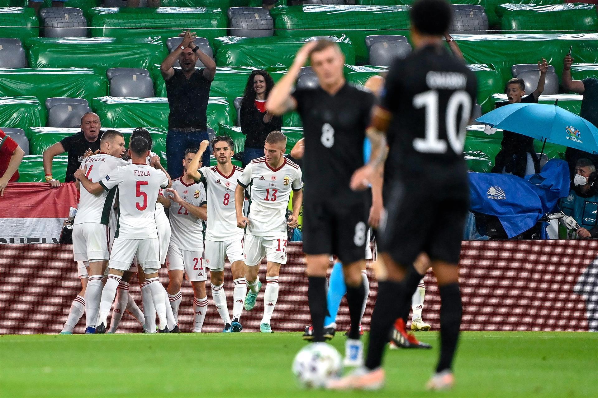 Goretzka evita la tragedia de Alemania |2-2