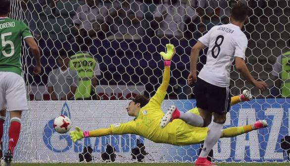 Alemania se aprovecha de un comienzo arrollador para batir a México |4-1