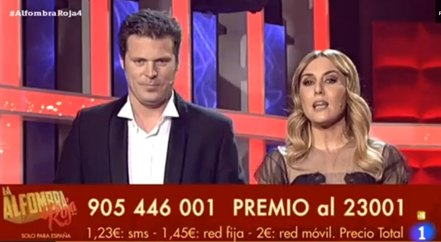 La 1 suspende la emisión de La Alfombra Roja Palace