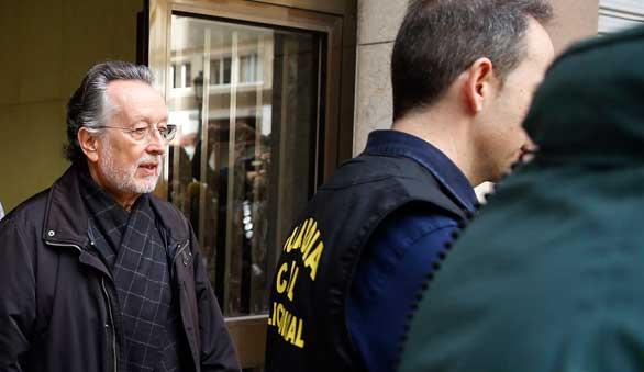 El ex vicealcalde de Valencia Alfonso Grau, en libertad tras declarar