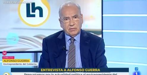 Los dardos de Guerra a Sánchez e Iglesias:
