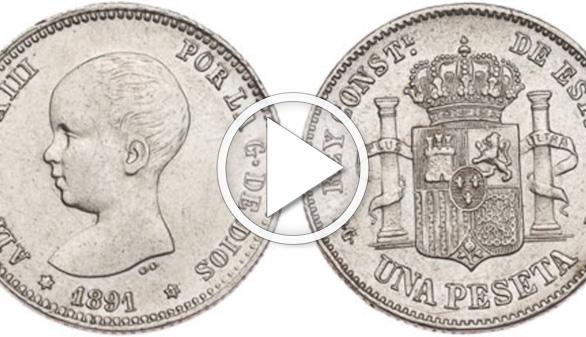 Retratos y simbología en la moneda en tiempos de Alfonso XIII