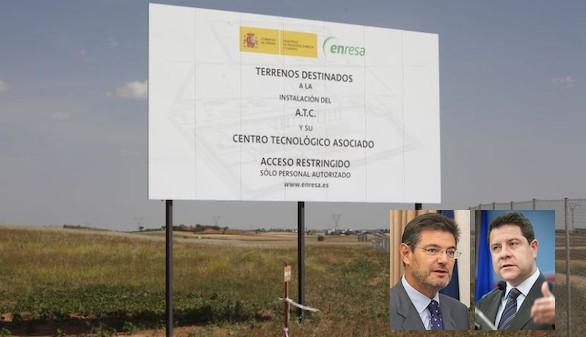 Guerra abierta entre García Page y el Gobierno por el almacén nuclear de Villar de Cañas