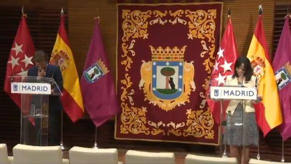 La nueva delegada del Gobierno en Madrid da la nota en su primera reunión con Almeida